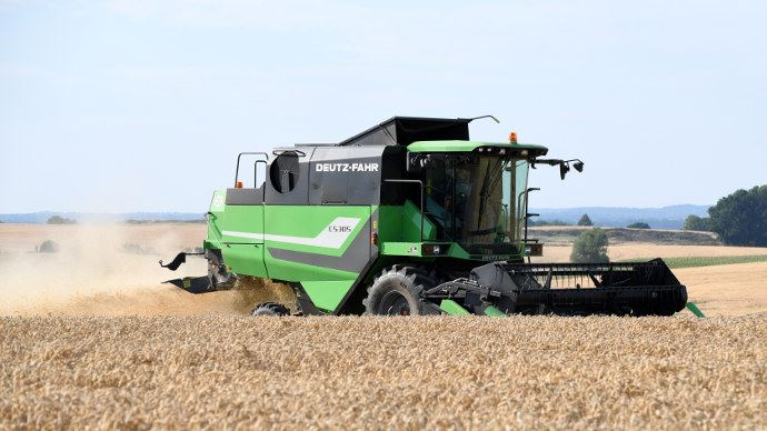 Deutz-Fahr C5305, une machine 5 secoueurs abordable