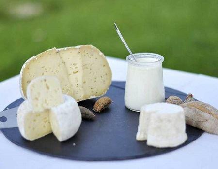 produits laitiers ferme de kervel a hanvec dans le finistere
