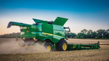 Si vous cassez plus de 1% des grains, John Deere vous rembourse!