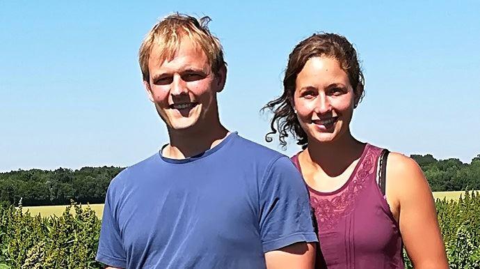 damien et marion breteau producteurs de quinoa