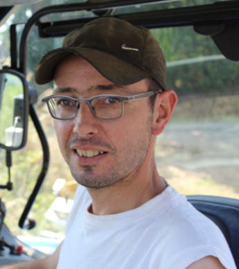 Tony Luais, agriculteur en Mayenne