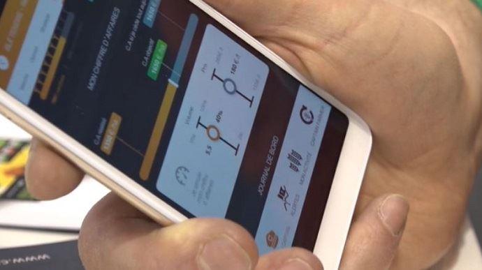 Sébastien Poncelet, de la société Agritel, a développé Captain Farmer, une nouvelle appli pour aider les agriculteurs à se positionner sur les marchés des grains.