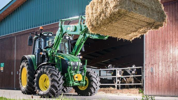John Deere 6M, la nouvelle gamme de tracteurs polyvalents