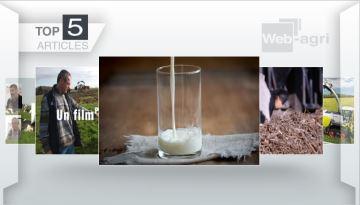 Recherche sur le lait, ensilage brins longs, Jaguar 990: le podium de la semaine