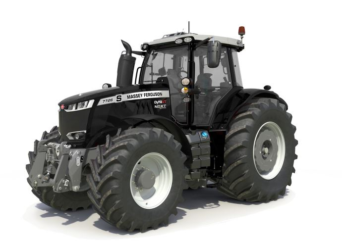 Massey Ferguson 7726 S Next Edition Black