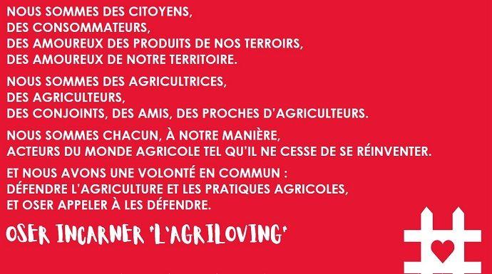 campagne agriloving de communication des jeunes agriculteurs de bourgogne franche comte