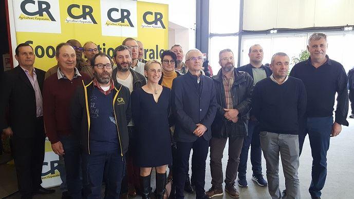 Eu sein des membres du bureau, ici sur la photo, de la Coordination rurale et du comité directeur du syndicat, près de la moitié des membres entament leur premier mandat..