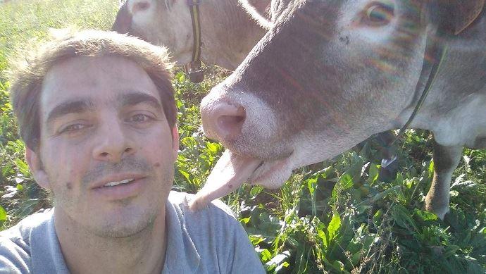 Adrien, 1er dauphin Mister France agricole 2020