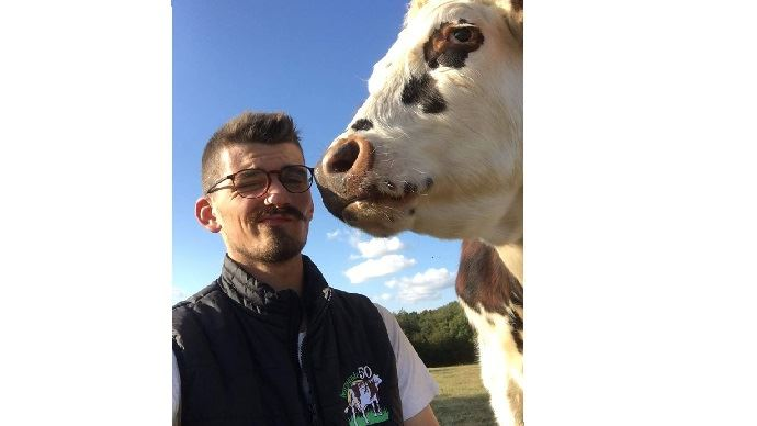 Gabriel, 2ème dauphin Mister France agricole 2020