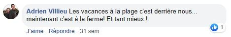 commentaire facebook adrien villieu agrivillage