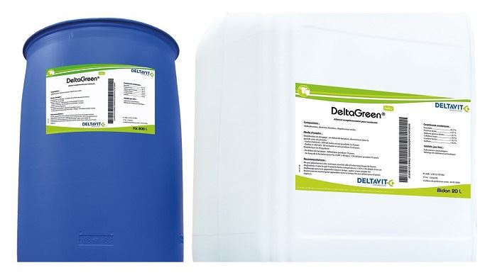 Delta-green, spécialité nutritionnelle liquide de Deltavit