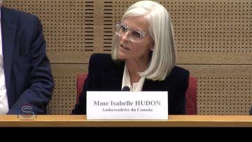 L'ambassadrice canadienne fustige un «Canada bashing» au Parlement français