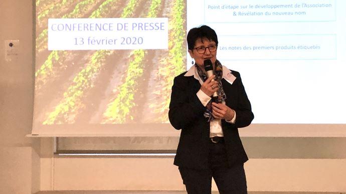 Anne Vandenbossche, présidente de La Note globale, a présenté le 13 février les projets de l'association pour 2020.