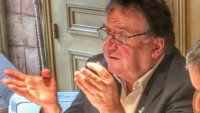 Gérard Napias, président de la Fédération nationale des entreprises des territoires, jeudi 13 février 2020 à Paris.