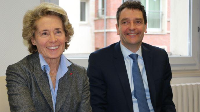 Caroline Cayeux et Michel Schietequatte