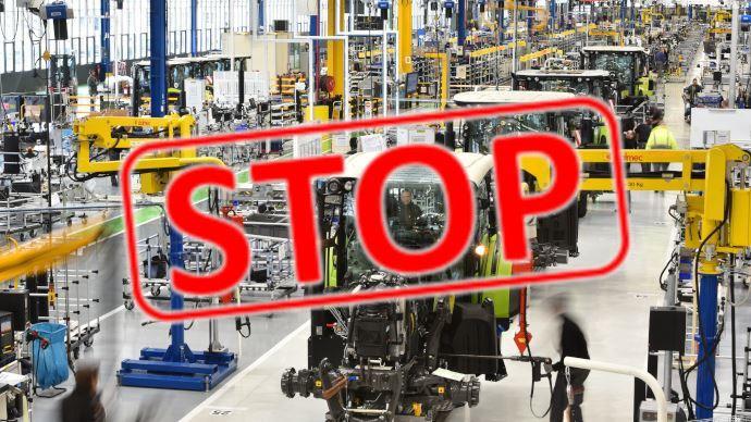 Les usines de fabrication du matériel agricole ferment