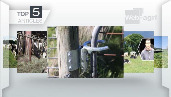 Les cinq articles les plus lus de la semaine sur Web-agri.