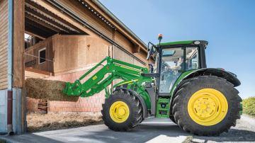 M: la nouvelle gamme John Deere pour les tracteurs jusqu'à 155 ch
