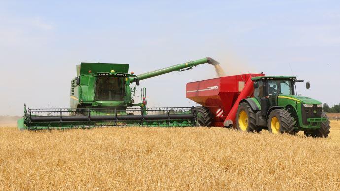 Presque 3/4 du blé français déjà récolté