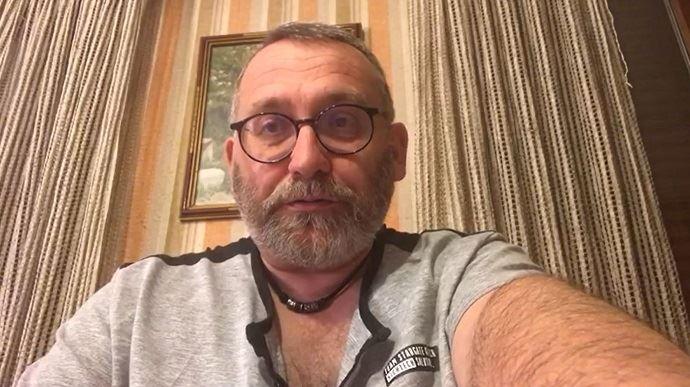 Joël Giraud, député des Hautes-Alpes, lors d'une intervention en visio sur son blog pendant le confinement sanitaire.