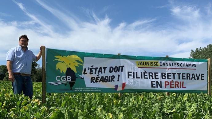 ChezM. Beaucamp betteravier en Seine-Maritime.