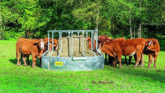 Râtelier circulaire anti-gaspillage 15 places de Patura