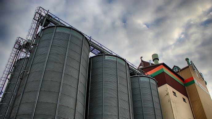 silos de cooperative agricole