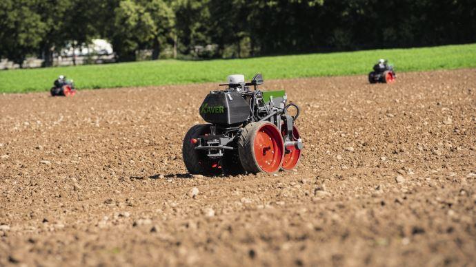 Nouvelle génération de robots Fendt Xaver