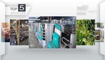 La plus grande installation de robots de traite GEA d'Europe à la Une