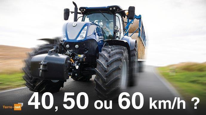 Quelle vitesse pour les tracteurs agricoles?
