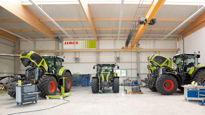 Claas renforce sa participation à E-Farm