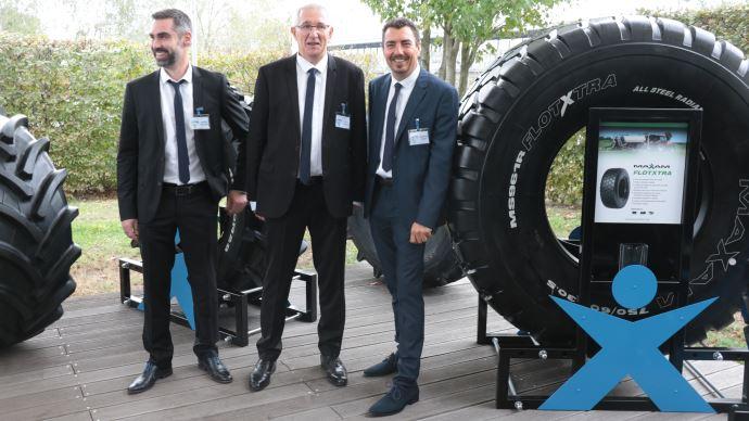 FPS distribue les pneumatiques agricoles Maxam en France.