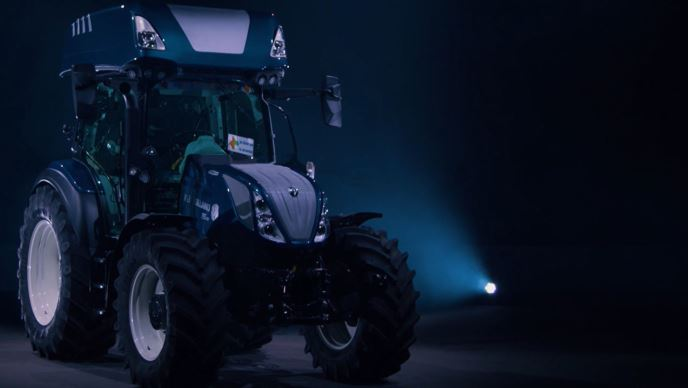 Tracteur New Holland T5.140 Auto Command H2 Dual Power