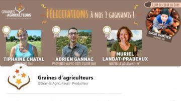 3 nouvelles Graines d'agriculteurs pour faire pousser l'agriculture