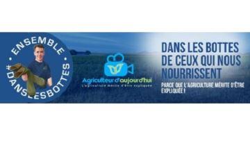 Un livre et une tournée en tracteur pour promouvoir l'agriculture