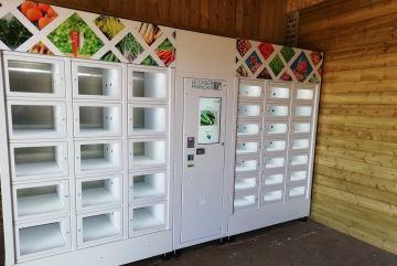 Les casiers alimentaires automatiques surfent sur la crise et le consommer local