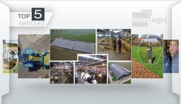 Une ferme avec 16 robots et destémoignages d'éleveurs à la Une
