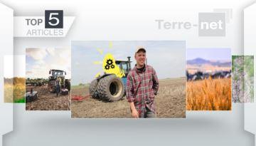 Concours #AstuceAgri, blé sans résidu de pesticides et climat russe à la Une