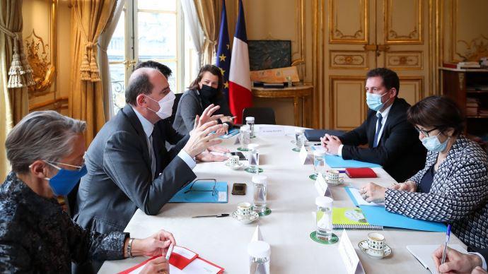 La FNSEA a rencontré le premier ministre Jean Castex le 28 janvier
