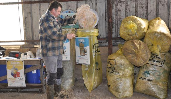 Tri des déchets agricoles