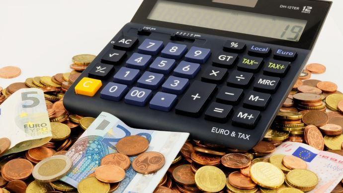 calculatrice billets et pieces