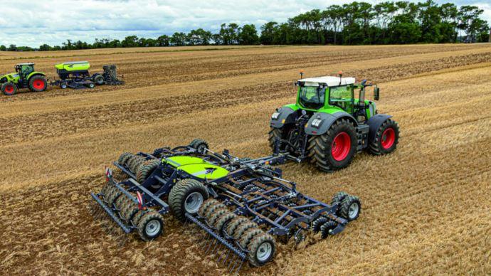Déchaumeur à disques hybride de Sky Agriculture