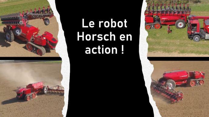 Le robot de semis autonome Horsch