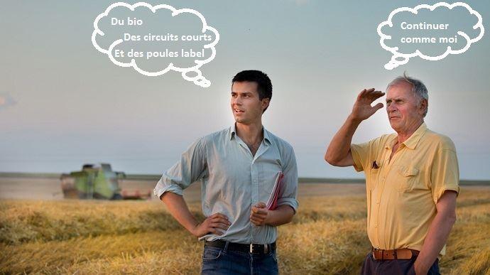cedant et repreneur en agriculture