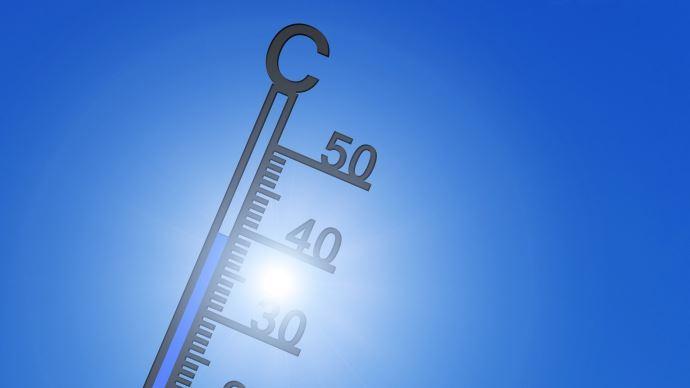 thermometre mercure entre 30 et 40 degres