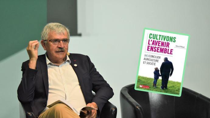 Dans son dernier ouvrage, l'agriculteur vendéen Hervé Pillaud propose de nombreuses pistes pour réconcilier durablement agriculture et société.