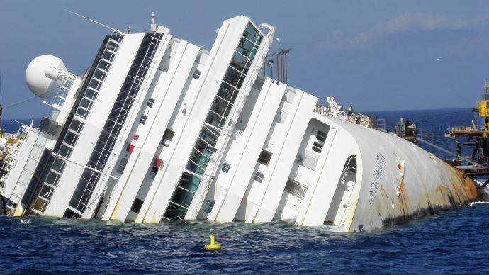 Naufrage costa Concordia bateau