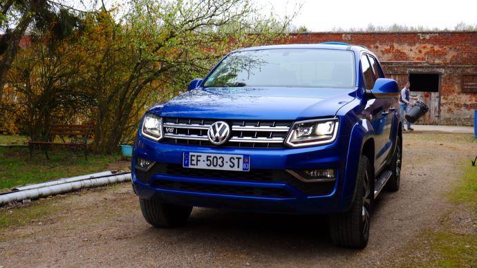 L'Amarok de Volkswagen ne laisse pas indifférent.