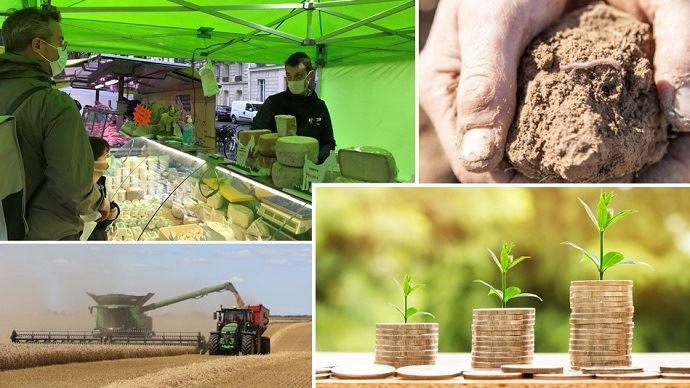 Si l'agrandissement pour optimiser les moyens de production constitue toujours un levier privilégié pour conforter l'exploitation, d'autres voies de développement se sont bien installées dans le paysage agricole, comme la diversification en vente directe ou production d'énergie, ou l'amélioration - bientôt rémunérée - des pratiques.