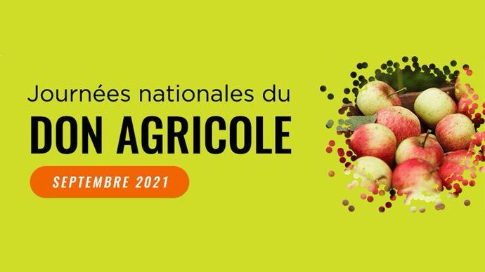 La 7e édition des Journées nationales du don agricole se poursuivent jusqu'au 30 septembre.